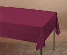 54x108    BURGANDY 3ply COVERS