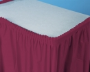 13x29    6/1  BURGANDY SKIRTS