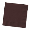10x10 12/50  BROWN BEV NAPKINS