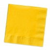 13x13 12/50 SCHOOL BUS YELLOW LUNCH NAPKINS