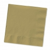 13x13 12/50  METALIC GOLD LUNCH  NAPKINS