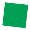 13x13/ 12/50  GREEN LUNCH NAPKINS