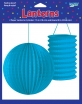 2  LANTERNS BRIGHT BLUE 7.5