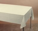 54X108    IVORY POLY COVERS