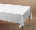 54 X 108 WHITE POLY COVERS